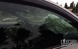 Столкновение двух авто: криворожанин пострадал во время ДТП