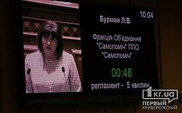 В очередной раз криворожские депутаты проигнорировали проект решения коллеги от демсил