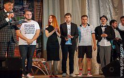 Криворожская команда «Театр имени ПтицА» прошла в финал днепровской Лиги Смеха