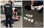 Криворожские оперативники за взяточничество задержали следователя полиции