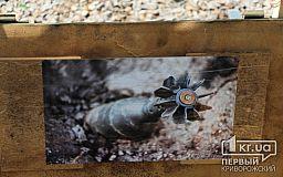 На берегу реки Саксагань криворожанин нашел взрывоопасную мину