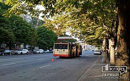 В Кривом Роге временно парализовано движение троллейбусов