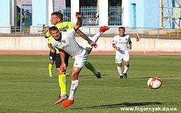 Футболисты криворожской команды «Горняк» обыграли спортсменов из Херсонской области