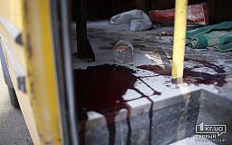 Из-за взрыва огнетушителя в криворожской маршрутке полиция открыла уголовное дело