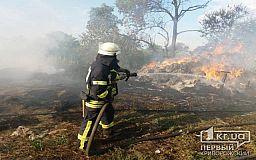 Криворожан предупреждают о высокой пожароопасности
