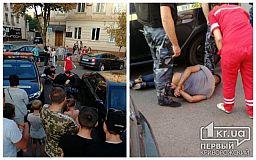 Криворожанина, устроившего дебош в центре города, правоохранители задерживать не стали