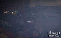 Криворожанин отравился угарным газом и получил ожоги в результате пожара в квартире