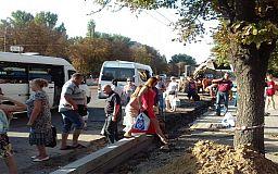 Из-за ремонтных работ в Кривом Роге перенесли остановку общественного транспорта