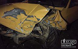 Во время ДТП в Кривом Роге возле остановки пострадали люди