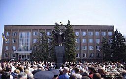 Памятник, который установили вместо Ленина, нравится криворожанам