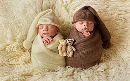 21 двойня родилась в Кривом Роге за 3 месяца 2018 года