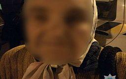 Поздним вечером в Кривом Роге потерялась старушка, горожане не прошли мимо