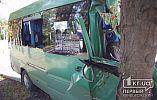 11 человек пострадали во время ДТП с маршрутным такси №230 в Кривом Роге