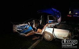 В ДТП под Кривым Рогом погиб мужчина, два человека пострадали