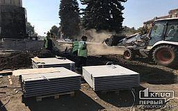 Криворожане возмущены вырубкой елок на площади Поля
