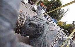 Первые фото памятника Крестителю Руси, который установят в Кривом Роге