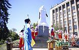 Памятник атаману Запорожской Сечи открыли в Кривом Роге в День Святой Троицы