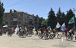 Велодень в Кривом Роге собрал около тысячи горожан на «двухколесных»
