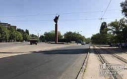 В Кривом Роге перекрыто движение по центральному проспекту