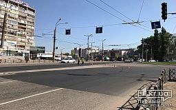В центре Кривого Рога перекрыли дорогу ради репетиции парада