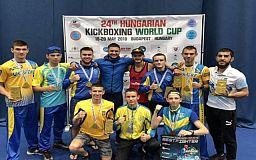 Криворожские спортсмены с Кубка Мира привезли золото