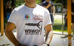 Криворожские спортсмены закончили Чемпионат по воркауту