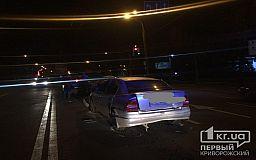 В Кривом Роге водитель создал ДТП из 3-х машин и скрылся с места происшествия