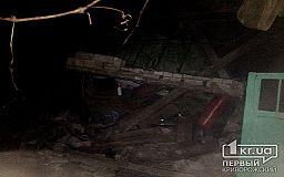 Из-за взрыва газовой установки авто в Кривом Роге сгорел гараж