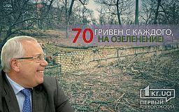 Миллионы за 1190 деревьев, кусты и озеленение Кривого Рога