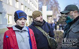 В Кривом Роге снова облили зеленкой депутата горсовета