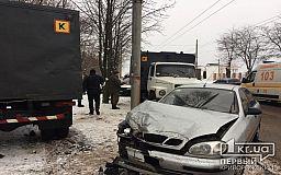 В Кривом Роге конвойная машина с людьми попала в ДТП, есть пострадавшие