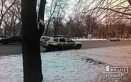 В Кривом Роге неизвестные повредили двери банка