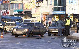 Движение по кольцу 95 квартала в Кривом Роге затруднено из-за ДТП