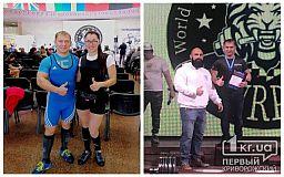 Двое криворожан одержали победу на Чемпионате мира по пауэрлифтингу