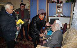 30 правнуков и 18 внуков, - супружескую пару из Кривого Рога поздравили с 70 годовщиной свадьбы