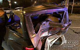 В результате тройного ДТП в Кривом Роге пострадал мужчина