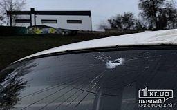 В центре Кривого Рога оборвались троллеи, повреждено авто