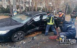 В Кривом Роге автомобилист скрылся с места ДТП, в котором пострадали люди