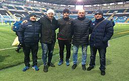 Футбольные тренеры из Кривого Рога представили город на международном форуме