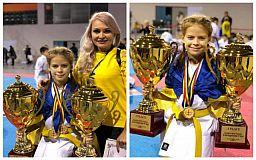 Криворожская каратистка привезла с чемпионата Европы две награды