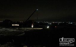 Под покровом ночи продолжается незаконное строительство тепличного комплекса, полиция и прокуратура бездействуют