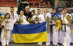 Криворожские каратисты завоевали медали для сборной Украины на Кубке Европы