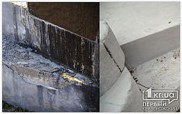 Как выглядит ремонт памятника за 8 тысяч гривен в Кривом Роге