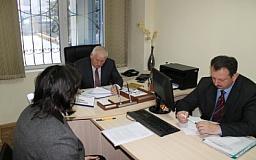 Помощник министра внутренних дел провел прием граждан в Кривом Роге