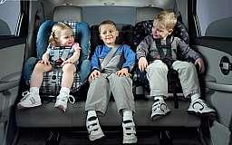 ДАІ нагадує: Дитина-пасажир потребує додаткового захисту