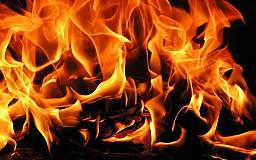 В Днепропетровской области на ходу загорелся бензовоз