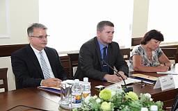 Кривой Рог с рабочим визитом посетили представители посольства США в Украине