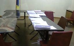 Саксаганская избирательная комиссия ночью вскрыла помещение архива избиркома