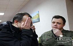 Народные депутаты от «Самопомічі» столкнулись с Юрием Вилкулом в горисполкоме