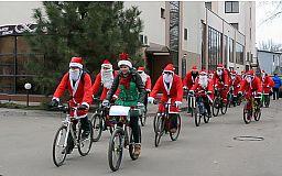 В Кривом Роге состоится новогодний благотворительный велопробег